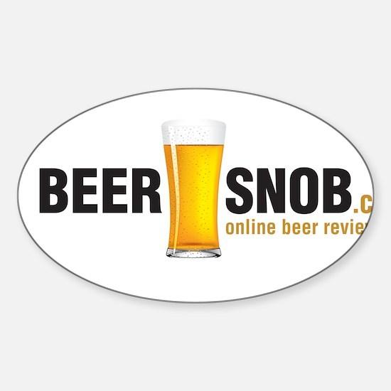 BeerSnob.ca Logo Decal