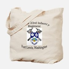4th Bn 23rd Infantry Tote Bag