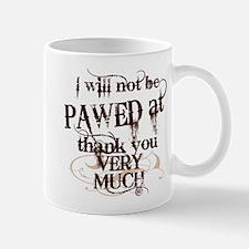 """""""Pawed at"""" Small Small Mug"""