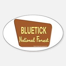 Bluetick Sticker (Oval)
