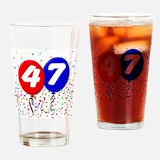 47th Birthday Pint Glass