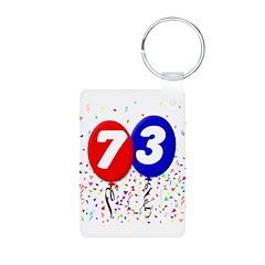 73rd Birthday Keychains