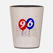96th Birthday Shot Glass
