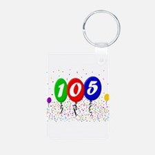 105th Birthday Keychains