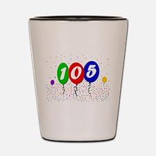 105th Birthday Shot Glass