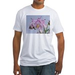 Swallowtail Butterfly Fitted T-Shirt