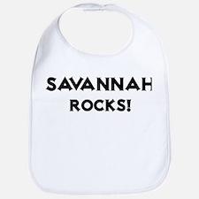 Savannah Rocks! Bib