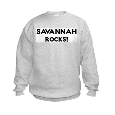 Savannah Rocks! Kids Sweatshirt