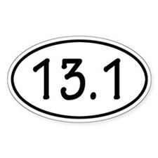 13.1 Oval Decal