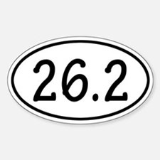 26.2 Oval Decal