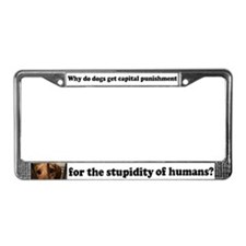 Capital Punishment License Plate Frame