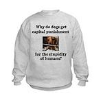 Capital Punishment Kids Sweatshirt