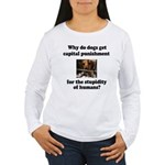 Capital Punishment Women's Long Sleeve T-Shirt