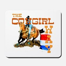 The Cowgirl Way Gifts & Tees Mousepad