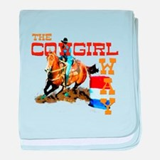 The Cowgirl Way Gifts & Tees baby blanket