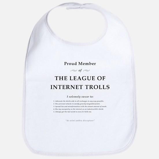 League of Internet Trolls Bib