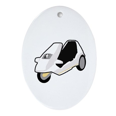 Sinclair C5 Oval Ornament