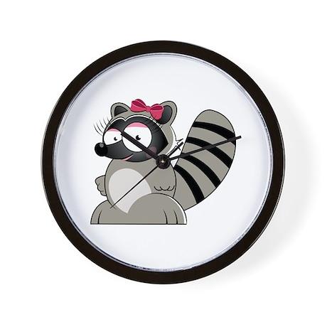 Raccoon Wall Clock