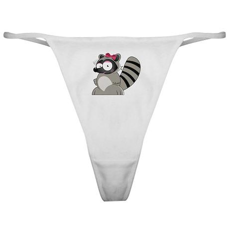 Raccoon Classic Thong