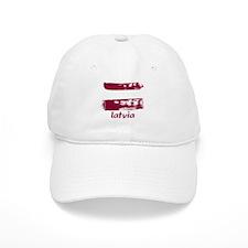 Latvia Baseball Cap