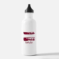 Latvia Water Bottle