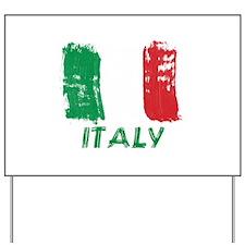 Italy Yard Sign