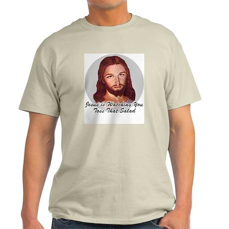 Toss That Salad Ash Grey T-Shirt