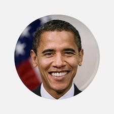 "US President Barack Obama 3.5"" Button (100 pack)"