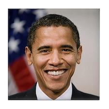 US President Barack Obama Tile Coaster
