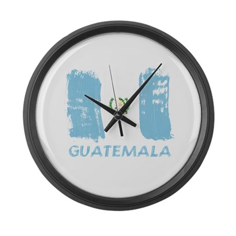 Guatemala Large Wall Clock