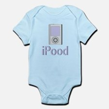 iPood with MP3 Player Infant Bodysuit