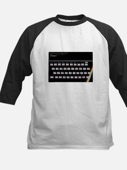 Sinclair ZX Spectrum Kids Baseball Jersey