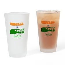 India Pint Glass
