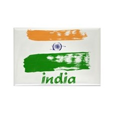 India Rectangle Magnet (10 pack)