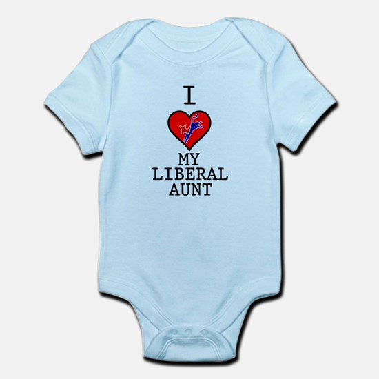 I Love My Liberal Aunt Infant Bodysuit