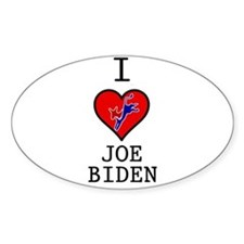 I Love Joe Biden Decal