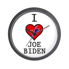 I Love Joe Biden Wall Clock