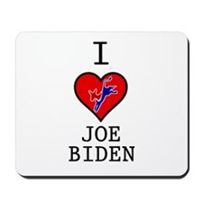 I Love Joe Biden Mousepad