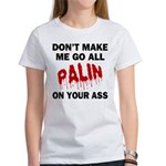 Palin 2012 Women's T-Shirt
