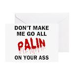 Palin 2012 Greeting Card