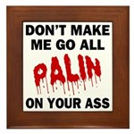 Palin 2012 Framed Tile