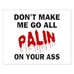 Palin 2012 Small Poster