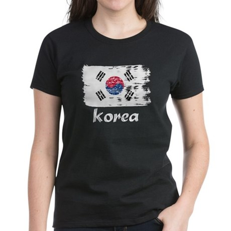 Korea Women's Dark T-Shirt