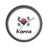 South korea Wall Clocks