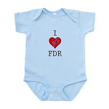 I Love FDR Infant Bodysuit