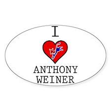 I Love Anthony Weiner Decal