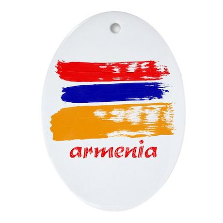 Armenia Ornament (Oval)