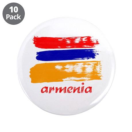 """Armenia 3.5"""" Button (10 pack)"""