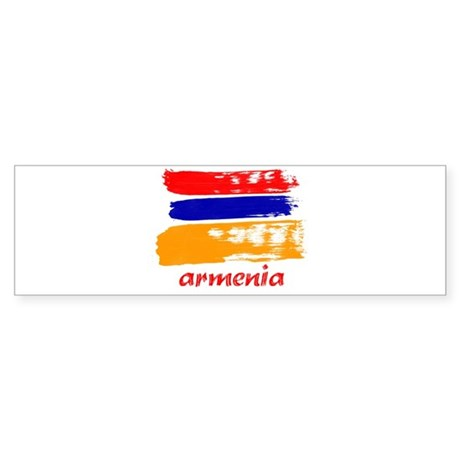 Armenia Sticker (Bumper)