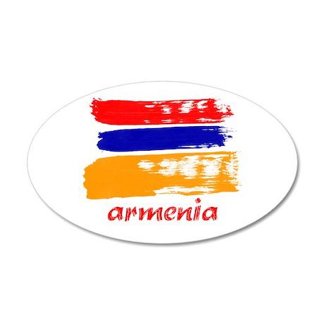 Armenia 22x14 Oval Wall Peel